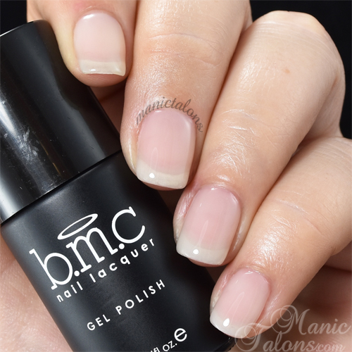 BMC Gel Polish Behind the Veil Swatch