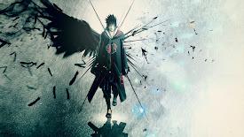 uchiha sasuke wings akatsuki hd wallpaper