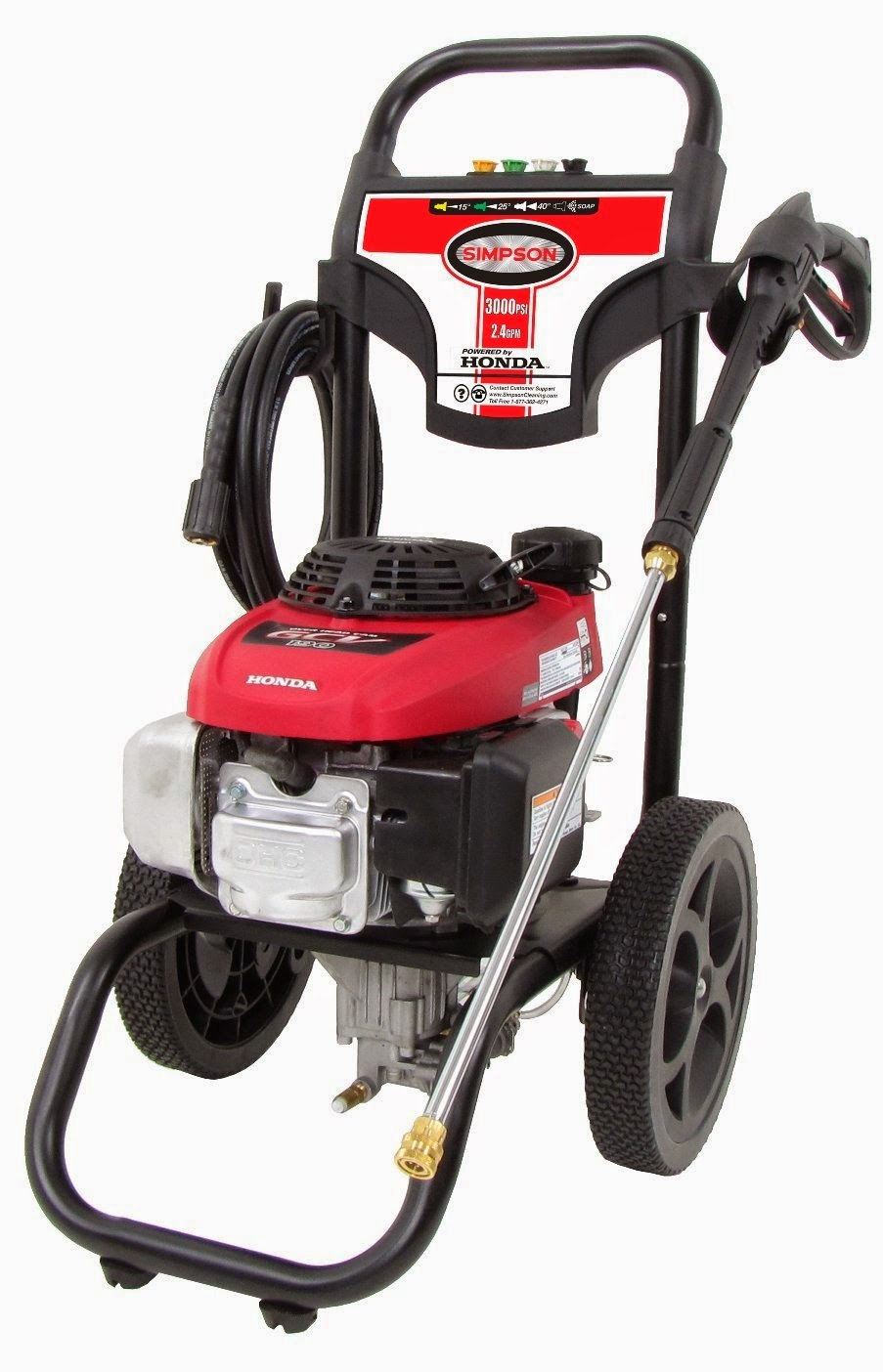 SIMPSON Gas Power Pressure Washer With Honda Engine