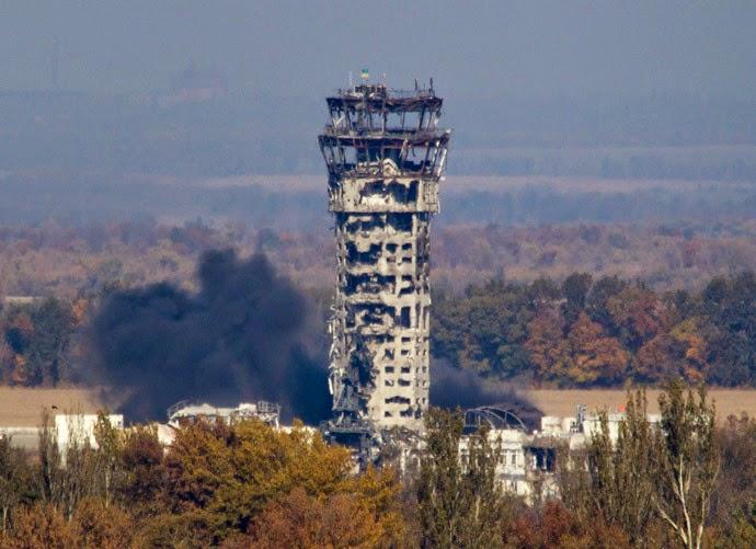Tiga tentara Ukraina tewas di Bandara Donetsk