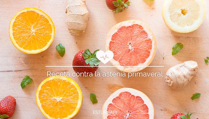 fruta fresca, fruta de temporada, pomelo, naranja, fresa, menta, batido primavera, mayo