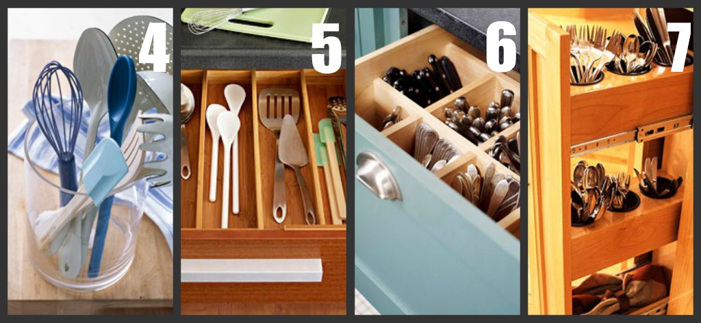 Our Forever House: {31 Days To A Functional Kitchen} Day 8: Utensil Storage