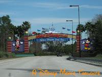 WDW Entrance Gate