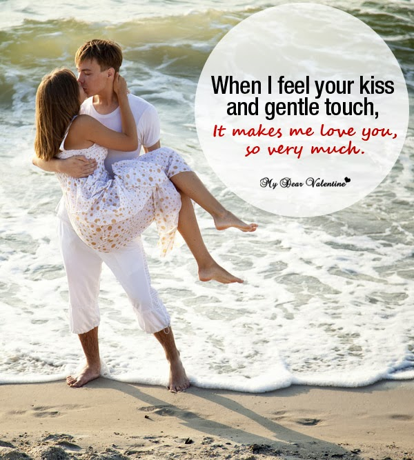 Your Kiss Makes Me love You Picture Quotes