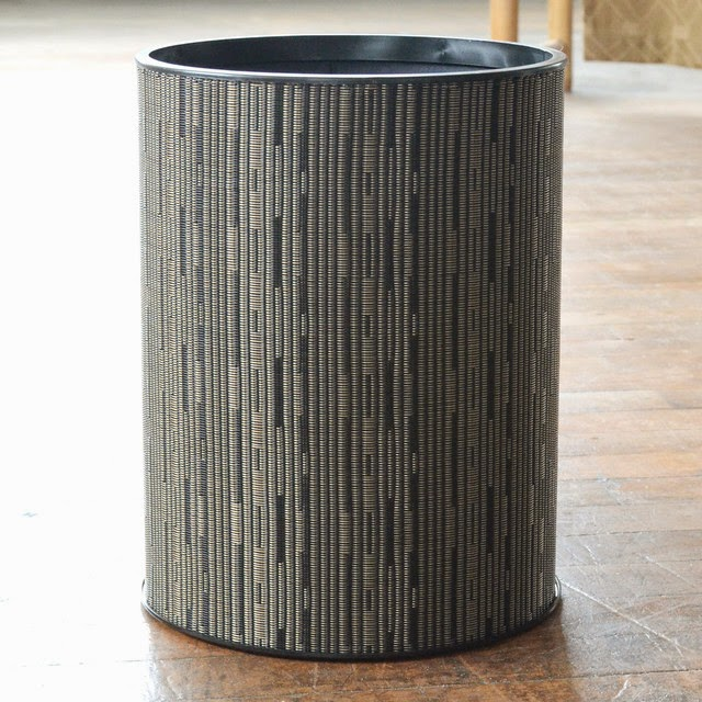 Modern waste baskets