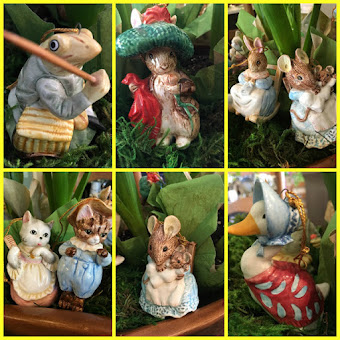 POST FEATURED ~ BEATRIX POTTER ORNAMENTS