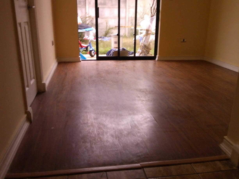 Clean man concepcion servicios de limpieza a domicilio pulido y abrillantado de piso flotante Piso pulido con color