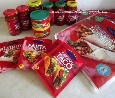 Testowanie produktów Tex-Mex marki Santa Maria