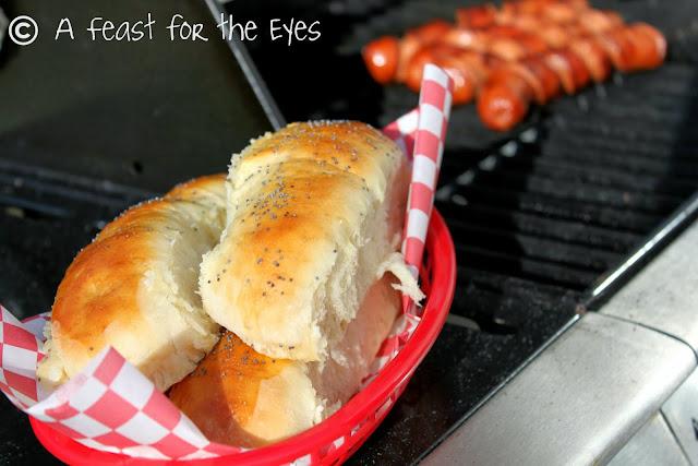 Making Hot Dog Buns Bread Machine