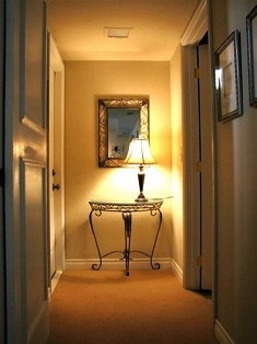 Marie Antoinette Interiors: Brighten the Dark Passage: Decorating ...