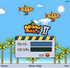 Hack Mobi army 2 full nhân vật mới này đã giảm dung lượng game xuống, có thêt chạy được trên cả các máy java s40 Ram yếu, chạy full màn hình cho các máy Android và iPhone