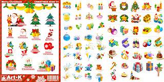 クリスマスをテーマにしたアイコン THE THEME OF THE CLASSIC CHRISTMAS ICON イラスト素材
