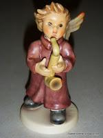 """Spririted Saxophonist"" Hummel #2135/J"