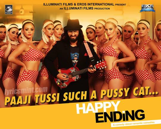 Paaji Tussi Such a Pussycat - Saif Ali Khan