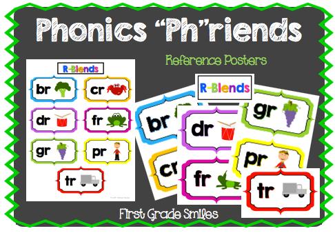 1st grade phonics blends worksheets