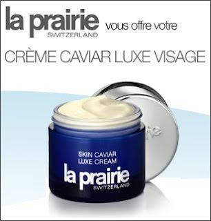 8 crèmes visage Caviar Luxe La Prairie à gagner