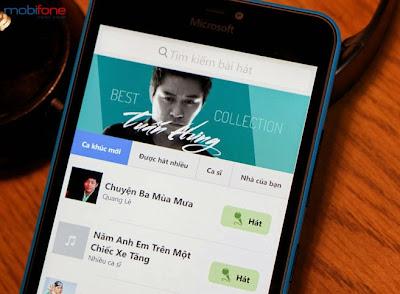 Thỏa sức hát Karaoke miễn phí với mKa Mobifone