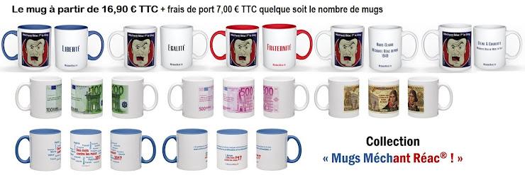 Commandez votre mug sur mechant.reac@gmail.com
