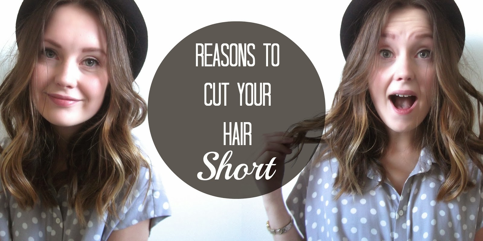 I Cut my Hair?!? And Reasons to Cut Your Hair Short