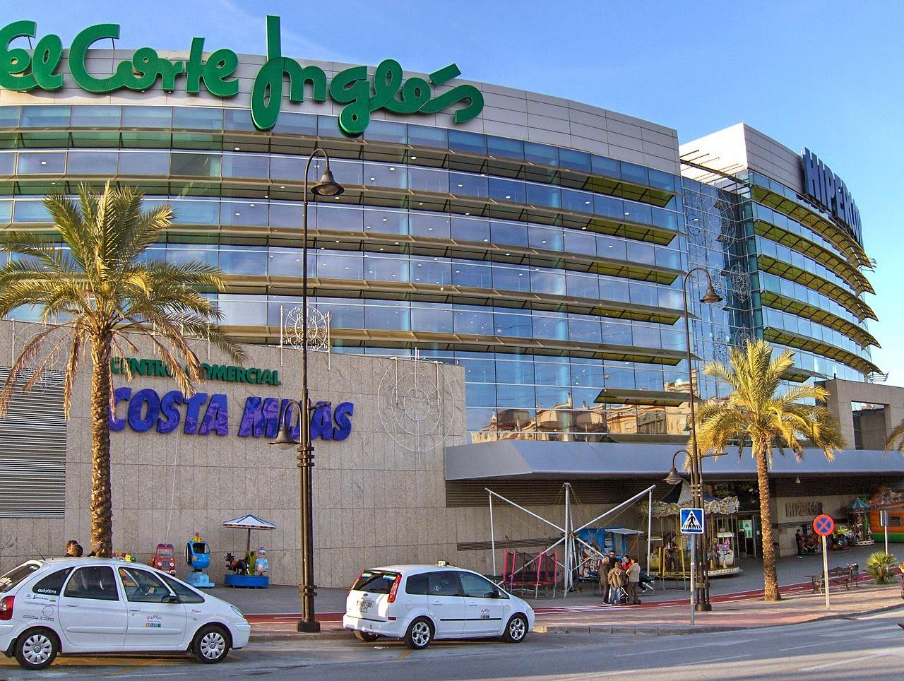 Centro Comercial Costa Mijas El Corte Inglés