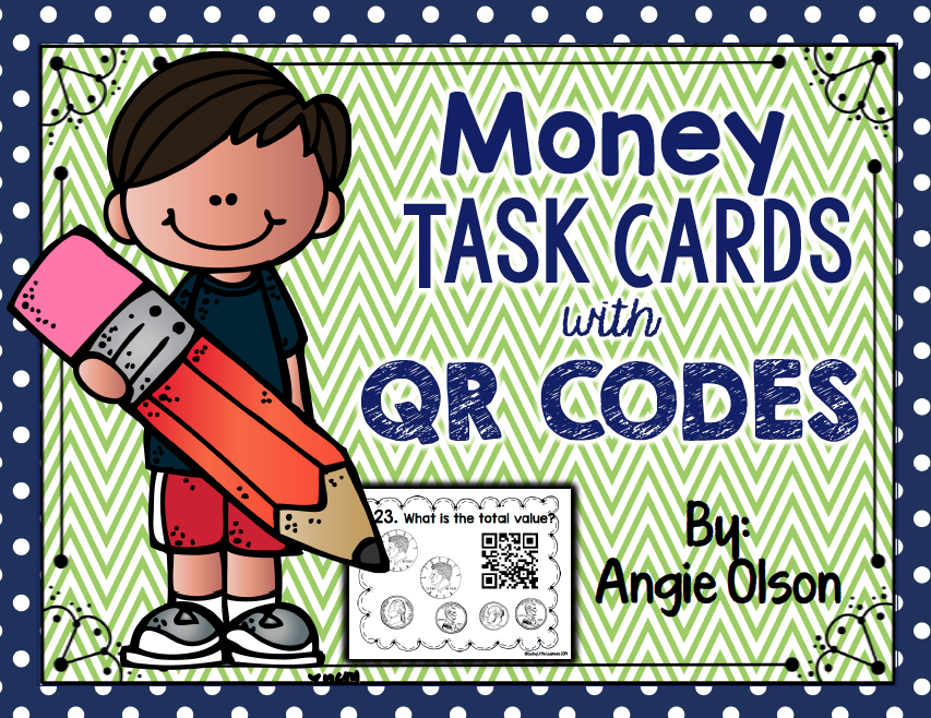 http://www.teacherspayteachers.com/Product/Money-QR-Code-Task-Cards-1600488