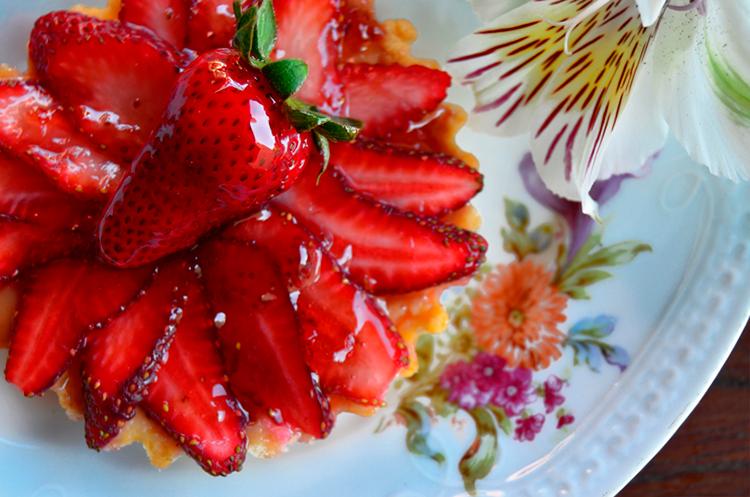 Tarta de frutillas recetas