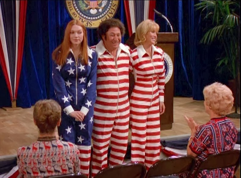 Three Man American Flag Outfit - That '70s Show - The Voice Of Vexillology, Flags & Heraldry: Three Man American