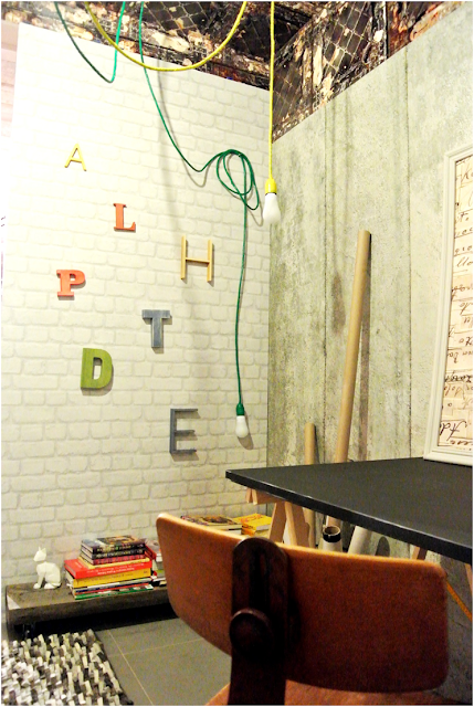 lampa z samymi żarówkami,DIy krok po kroku lampa pająk,blog wnętrza