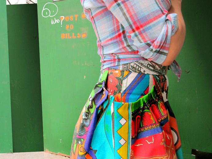 oonaballoona | a pocketful of love | moschino midi skirt | a sewing blog