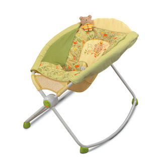 Fissher Price sleep n' play rocker