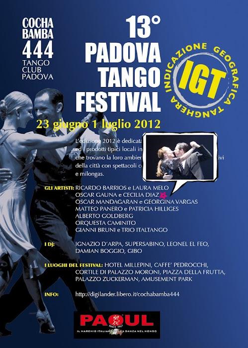 13º Padova Tango Festival - Italia