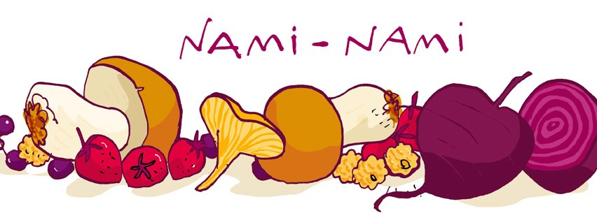 NAMI-NAMI: a food blog