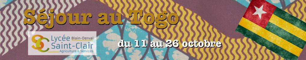 Séjour au Togo