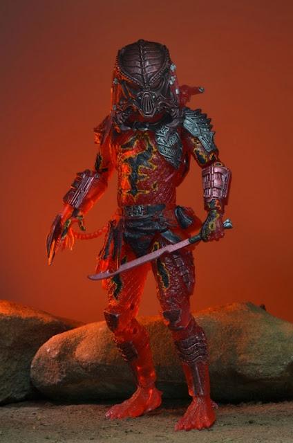 "NECA Predator Series 10 ""Lava Planet"" Predator Figure"