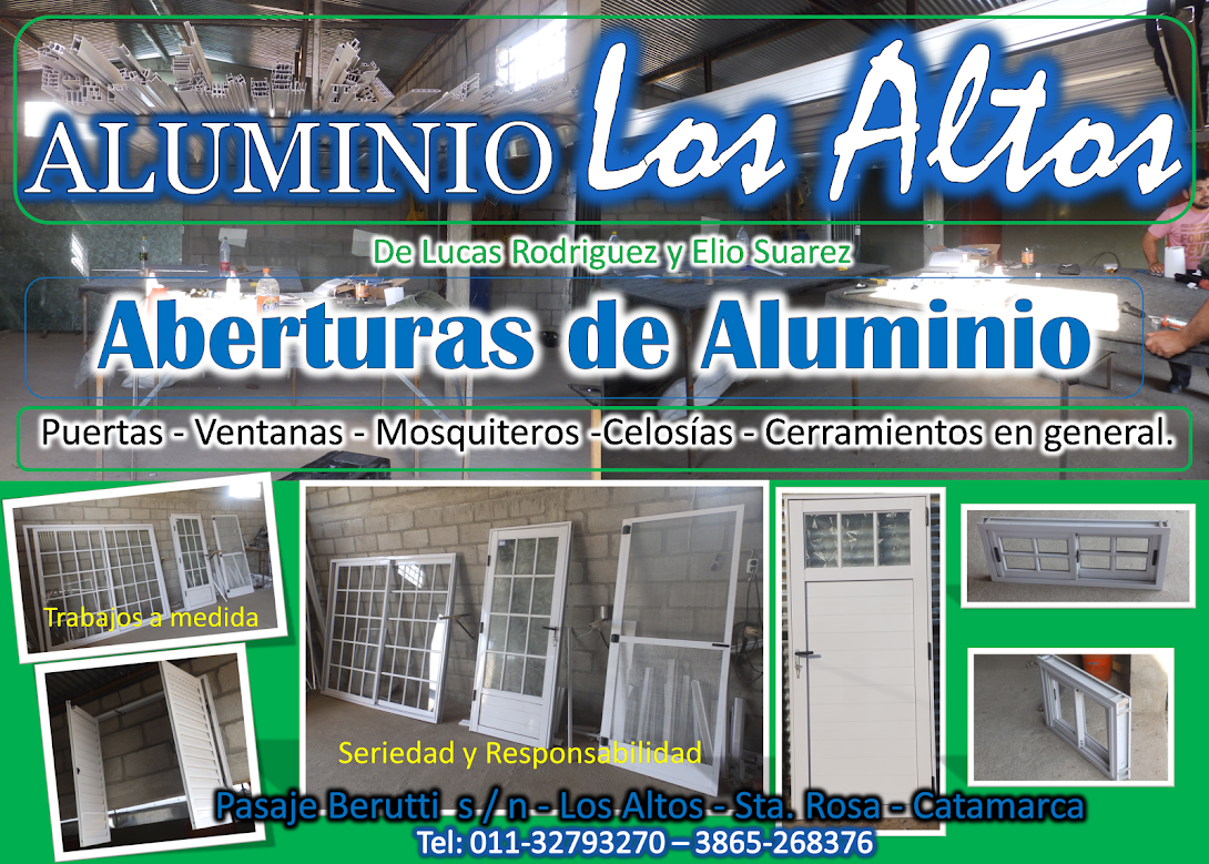 ALUMINIO LOS ALTOS