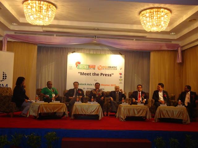Họp báo giới thiệu chương trình Livestock Asia 2015