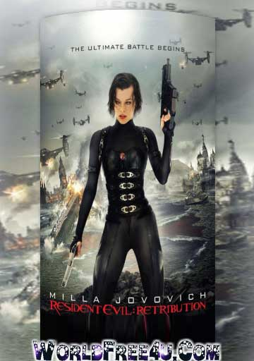 Resident Evil 5 Retribution 2012 Hindi Dubbed 300mb Free Download