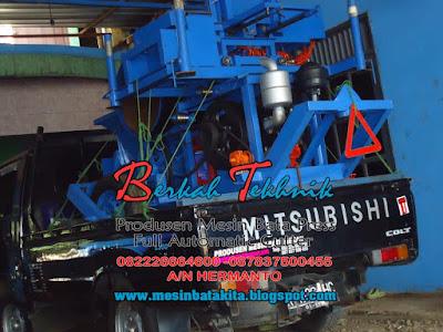 Pengiriman Mesin Bata Merah Press Otomatis - Berkah Tekhnik
