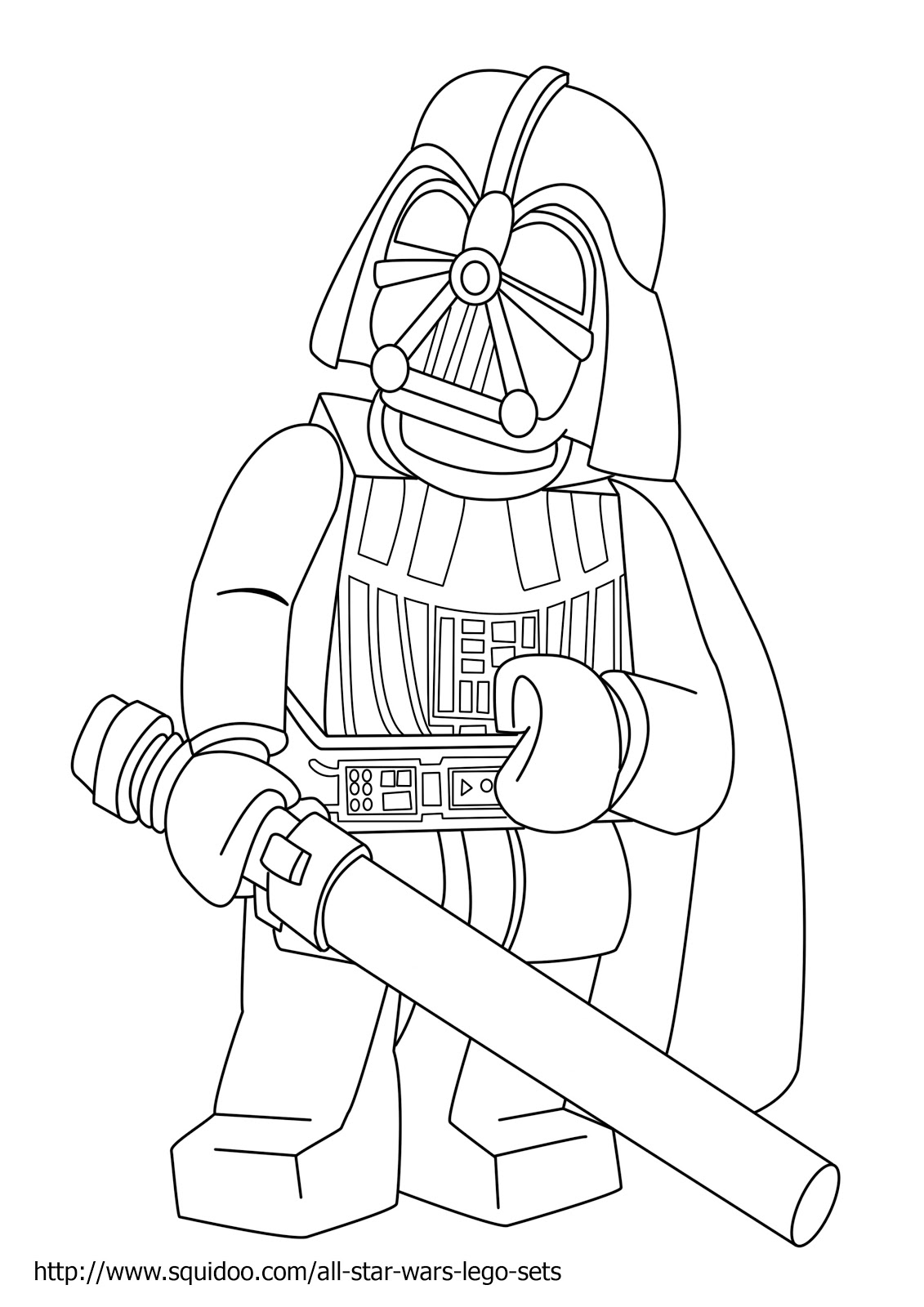 Star Wars Mask Coloring Pages Wars Lego Coloring Page