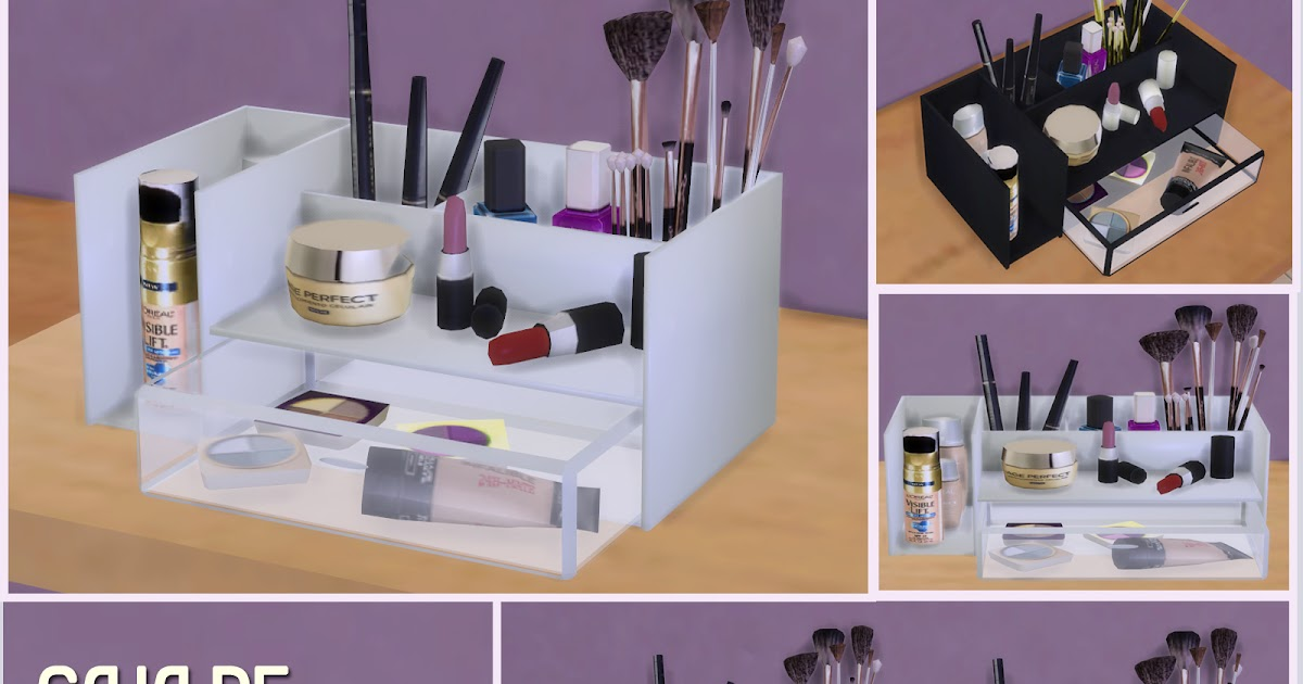 My Sims 4 Blog Makeup Box By Pqsim4