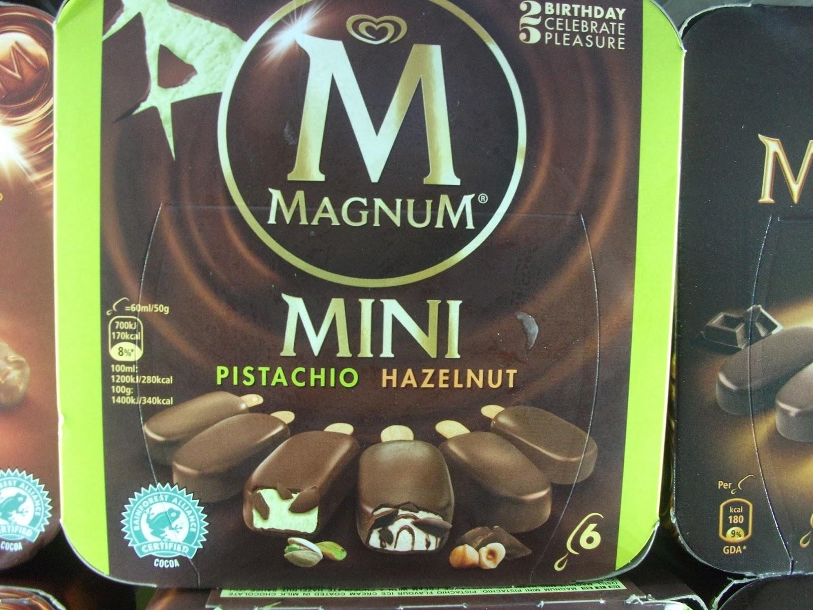 magnum mini pistachio hazelnut