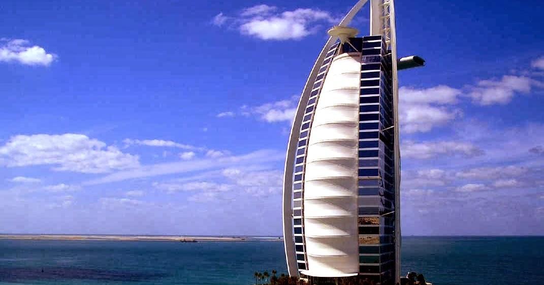 World visits dubai hotel 7 star burj al arab for No 1 hotel in dubai
