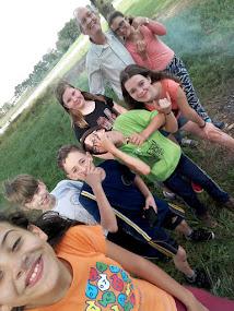 Foto b - Selfie van de groep