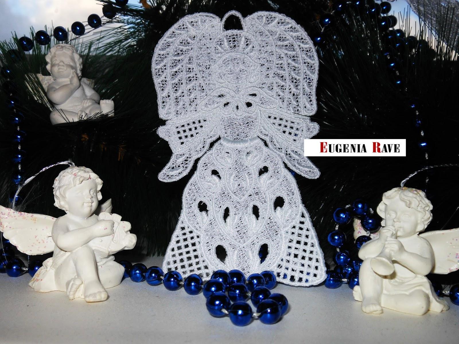 кружево, ангел, украшение, кружевной ангел, рождество, для интерьера, для праздника