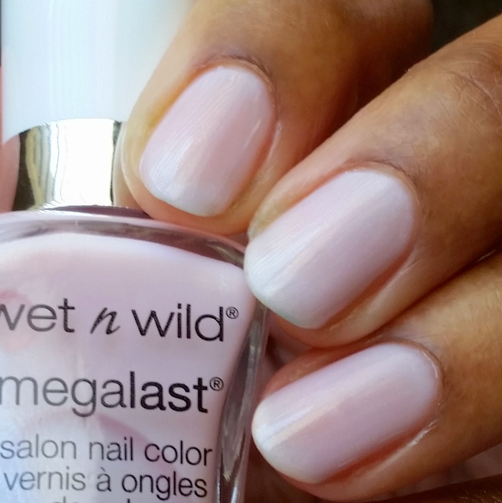 Clear Pink Nail Polish French Manicure