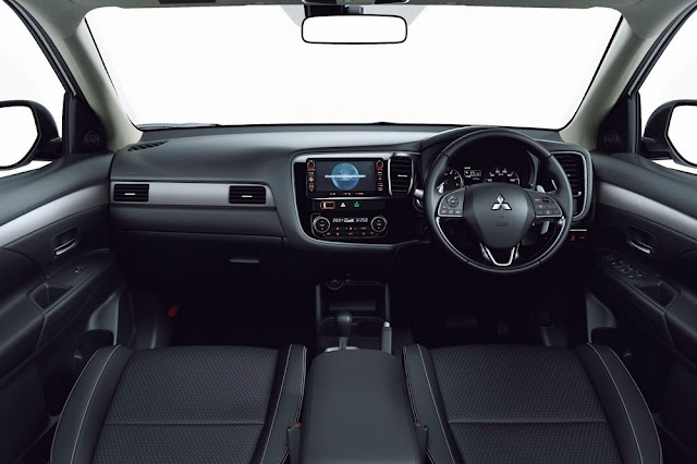 New Mitsubishi Outlander Facelift