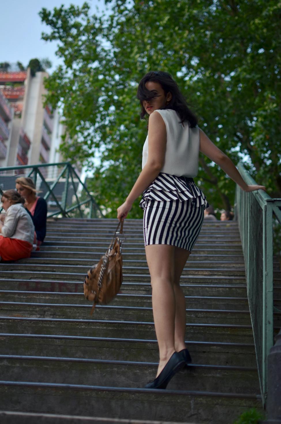 the serial shopper at canal saint martin in paris