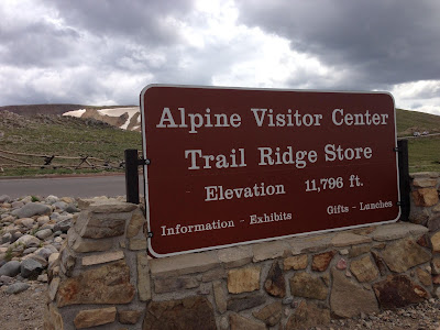 Alpine Visitor Center, Rocky Mountain National Park, CO www.thebrighterwriter.blogspot.com #RMNP #ColorfulColorado #Colorado