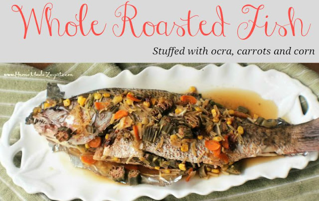 How to roast a whole fish