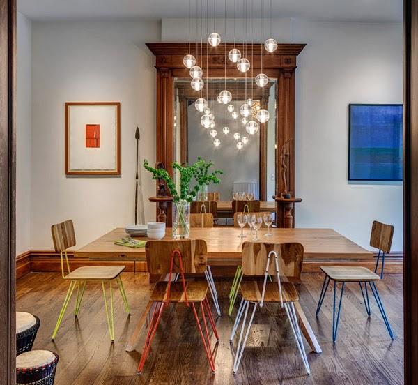 Modernisiertes Haus & Einrichtung in altem Haus, Brooklyn, New York - lockeres Wohnen mit modernem Design